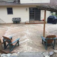 Cedar deck restoration ringwood nj 2