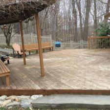 Cedar deck restoration ringwood nj 3