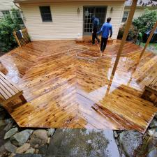 Cedar deck restoration ringwood nj 6