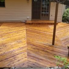 Cedar deck restoration ringwood nj 9