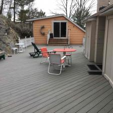Power washing deck dock west milford 4