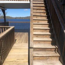 Power washing deck dock west milford 5