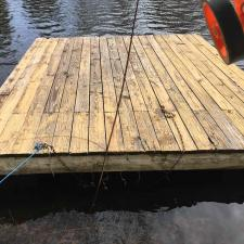 Power washing deck dock west milford